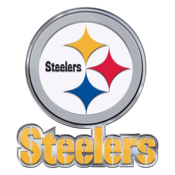 Picture of NFL - Pittsburgh Steelers Embossed Color Emblem 2