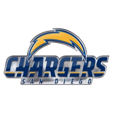 Picture of NFL - Los Angeles Chargers Embossed Color Emblem 2