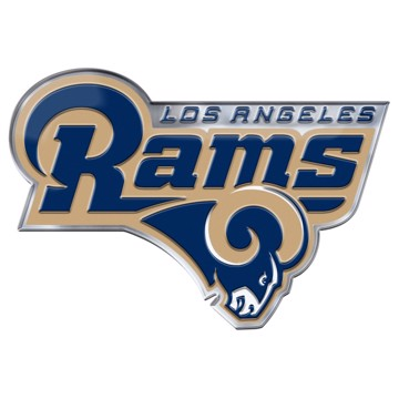 Picture of NFL - Los Angeles Rams Embossed Color Emblem 2