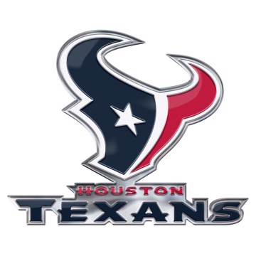 Picture of NFL - Houston Texans Embossed Color Emblem 2