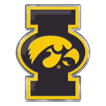 Picture of Iowa Embossed Color Emblem 2