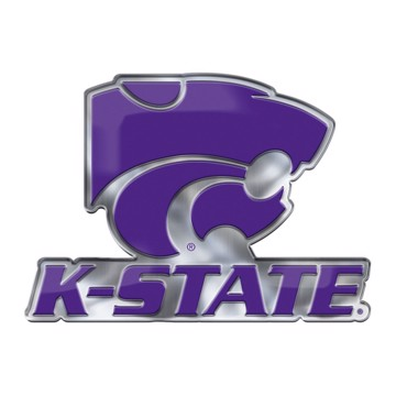 Picture of Kansas State Embossed Color Emblem 2