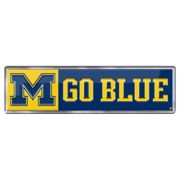 Picture of Michigan Embossed Color Emblem 2