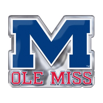 Picture of Ole Miss Embossed Color Emblem 2