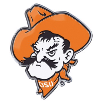 Picture of Oklahoma State Embossed Color Emblem 2