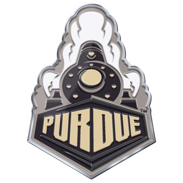 Picture of Purdue Embossed Color Emblem 2