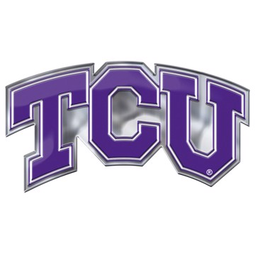 Picture of TCU Embossed Color Emblem 2