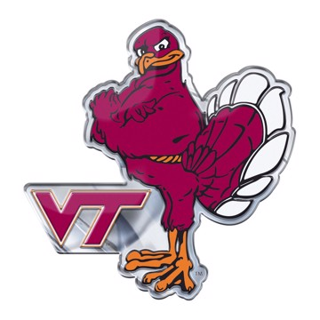 Picture of Virginia Tech Embossed Color Emblem 2