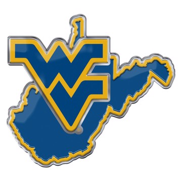 Picture of West Virginia Embossed Color Emblem 2