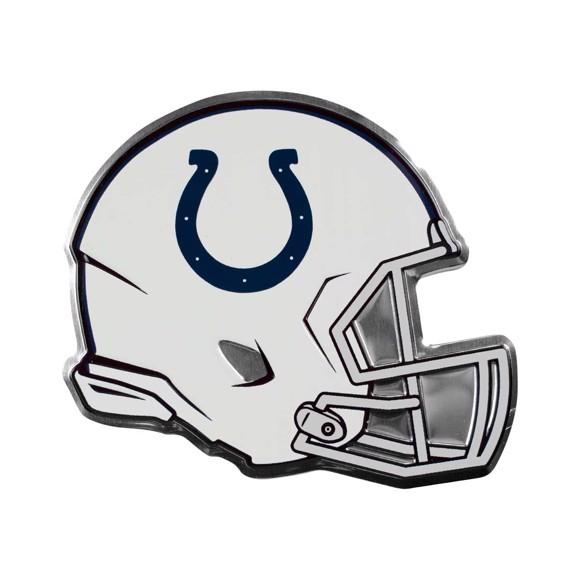 Nfl Indianapolis Colts Embossed Helmet Emblem Fanmats Sports Licensing Solutions Llc