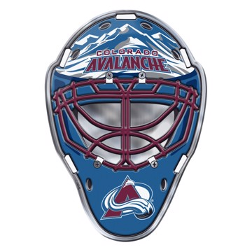 Picture of NHL - Colorado Avalanche Embossed Helmet Emblem