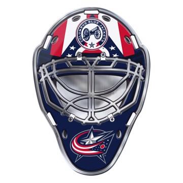 Picture of NHL - Columbus Blue Jackets Embossed Helmet Emblem