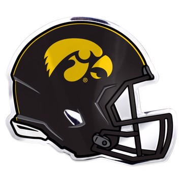 Picture of Iowa Embossed Helmet Emblem