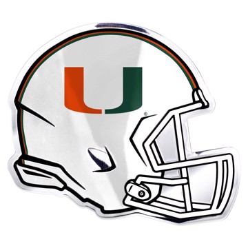 Picture of Miami Embossed Helmet Emblem