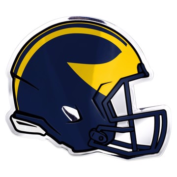 Picture of Michigan Embossed Helmet Emblem