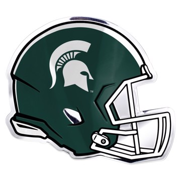 Picture of Michigan State Embossed Helmet Emblem
