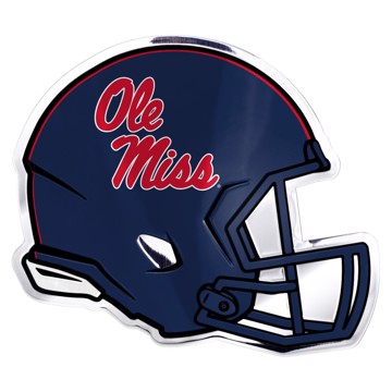 Picture of Ole Miss Embossed Helmet Emblem