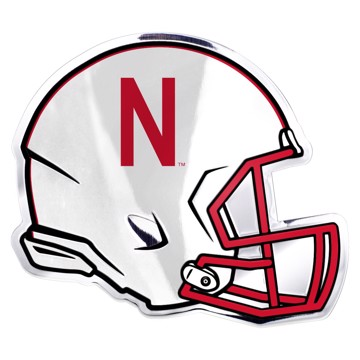 Picture of Nebraska Embossed Helmet Emblem
