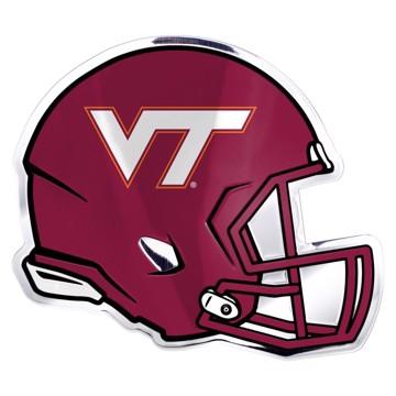 Picture of Virginia Tech Embossed Helmet Emblem