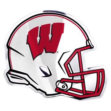 Picture of Wisconsin Embossed Helmet Emblem