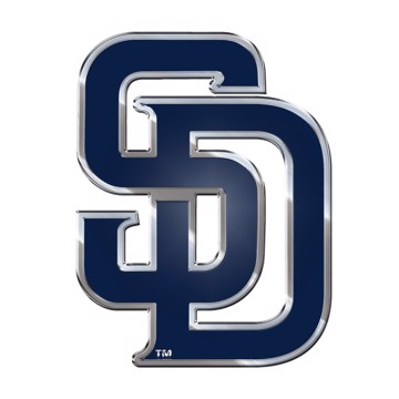 Picture of MLB - San Diego Padres Embossed State Emblem