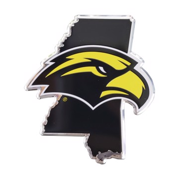 Picture of Southern Miss Embossed State Emblem