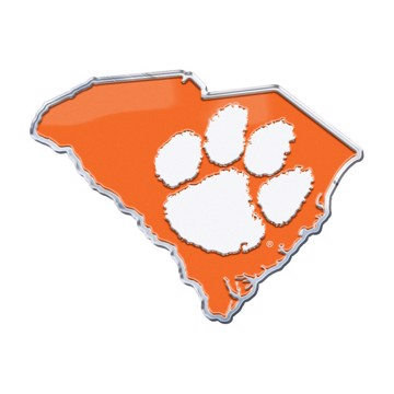 Picture of Clemson Embossed State Emblem