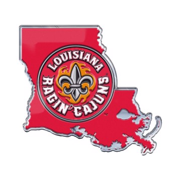 Picture of Louisiana-Lafayette Embossed State Emblem
