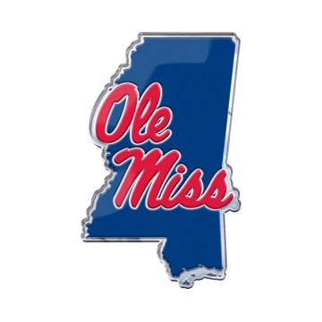 Picture of Ole Miss Embossed State Emblem
