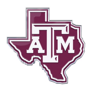 Picture of Texas A&M Embossed State Emblem