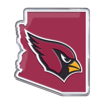 Picture of NFL - Arizona Cardinals Embossed State Emblem