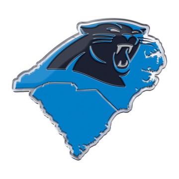 Picture of NFL - Carolina Panthers Embossed State Emblem