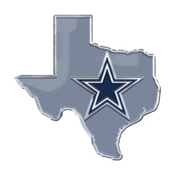 Picture of NFL - Dallas Cowboys Embossed State Emblem