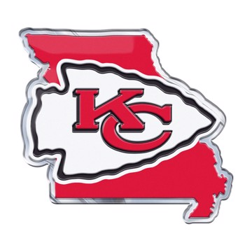 Picture of NFL - Kansas City Chiefs Embossed State Emblem