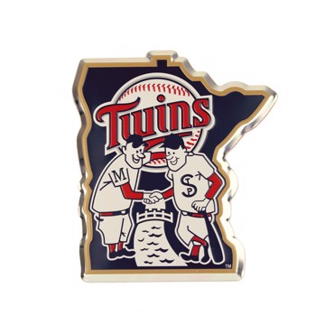Picture of MLB - Minnesota Twins Embossed State Emblem