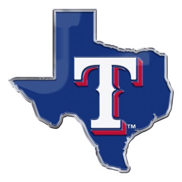Picture of MLB - Texas Rangers Embossed State Emblem