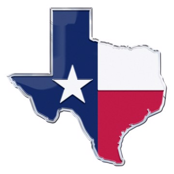 Picture of Texas, State of Embossed State Emblem