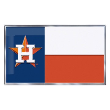 Picture of MLB - Houston Astros Embossed State Flag Emblem