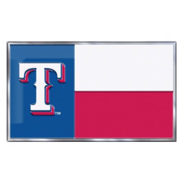 Picture of MLB - Texas Rangers Embossed State Flag Emblem