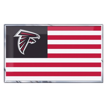 Picture of NFL - Atlanta Falcons Embossed State Flag Emblem