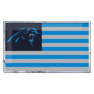 Picture of NFL - Carolina Panthers Embossed State Flag Emblem