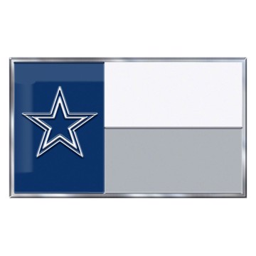Picture of NFL - Dallas Cowboys Embossed State Flag Emblem