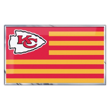 Picture of NFL - Kansas City Chiefs Embossed State Flag Emblem