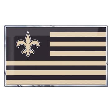 Picture of NFL - New Orleans Saints Embossed State Flag Emblem