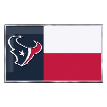 Picture of NFL - Houston Texans Embossed State Flag Emblem