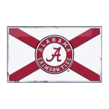 Picture of Alabama Embossed State Flag Emblem