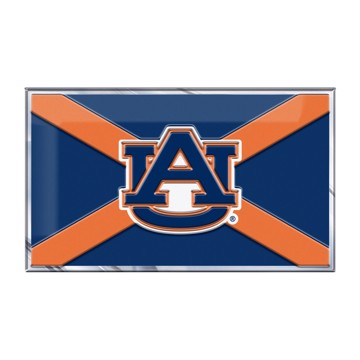 Picture of Auburn Embossed State Flag Emblem
