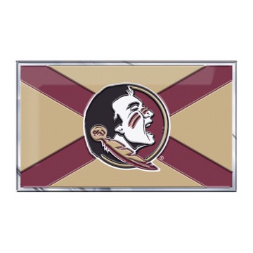 Picture of Florida State Embossed State Flag Emblem