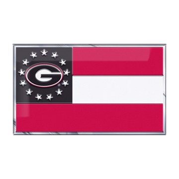 Picture of Georgia Embossed State Flag Emblem