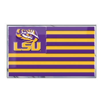 Picture of LSU Embossed State Flag Emblem
